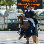 Action Tanya winning Florida International Youth Dressage Championships